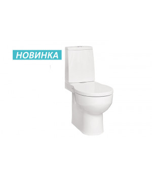 АЛЛЕГРО  УНИТАЗ КОМПАКТ С ГОРИЗОНТАЛЬНЫМ ВЫПУСКОМ -1WH301955