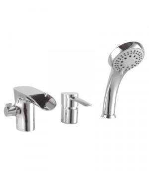 Серия ANTLANTISS Смеситель для ванны на 3 отверстия – LM3245C
