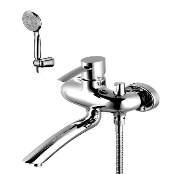 Серия ATLANTISS Смеситель для ванны с поворотным изливом – LM3214C