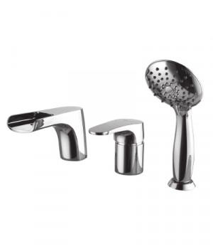 Серия SHIFT Смеситель для ванны на 3 отверстия – LM4345C