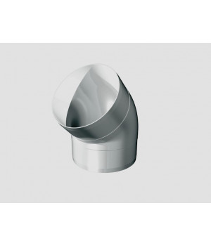 10ККП 45 гр. колено круглое пластик 45 гр., D100