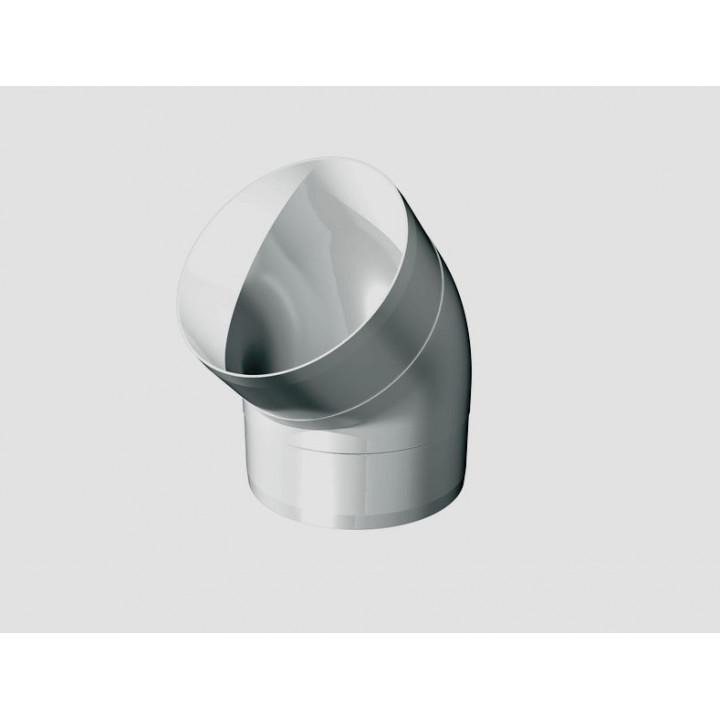 12,5ККП 45 гр. колено круглое пластик 45 гр., D125