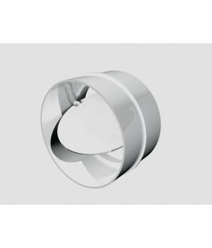 10СКПО соединитель круглого канала с обр. клапаном