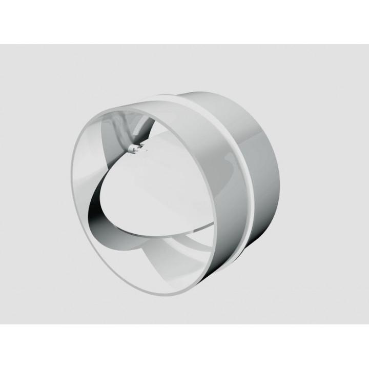 12,5СКПО соединитель круглого канала с обр. клапан