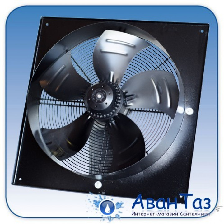 Вентилятор Dunli YWF.A4S-630S-5FIA00 BF осевой в квадратном фланце (10800 m³/h)