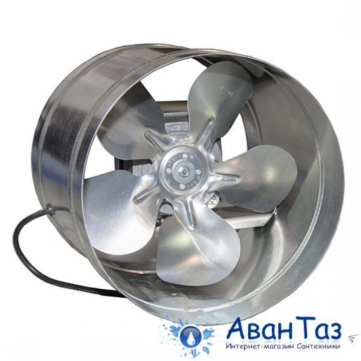 Вентилятор Ванвент ВКО 200 осевой в канале на Q моторах ebmpapst (400 m³/h)