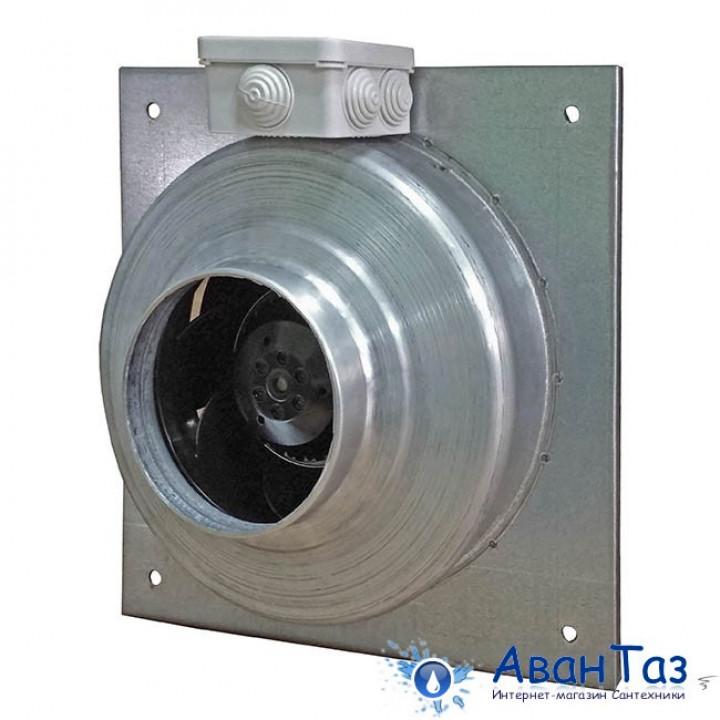 Вентилятор Ванвент ВКВ-Ф 200Е (ebmpapst) канальный на квадратном фланце (900 m³/h)