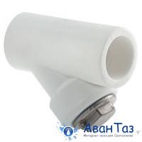 Фильтр сетчатый 25 вн/вн Damento белый(10/80)