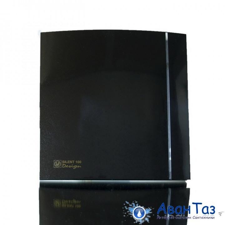 (Soler & Palau) Вентилятор накладной SILENT-200 CZ BLACK DESIGN-3C