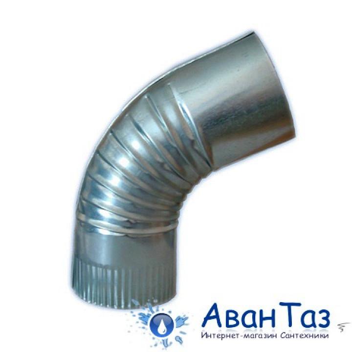 Вентиляция круглый отвод ВКО 160/45/0.5