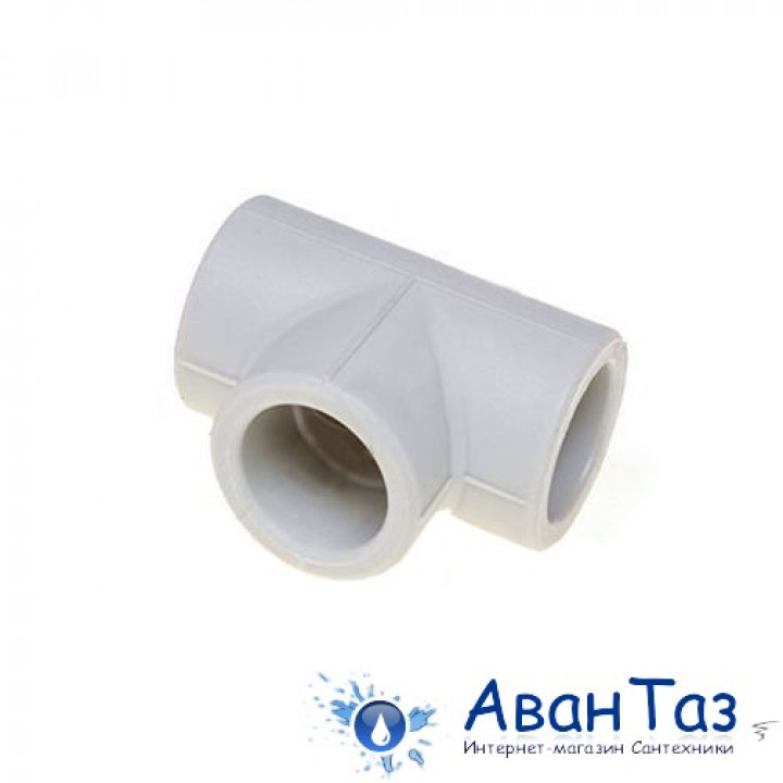 Тройник соединительный 20 белый Damento (30/180)