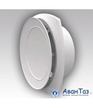 12,5АПП Анемостат приточный регулируемый с фланцем АБС D125