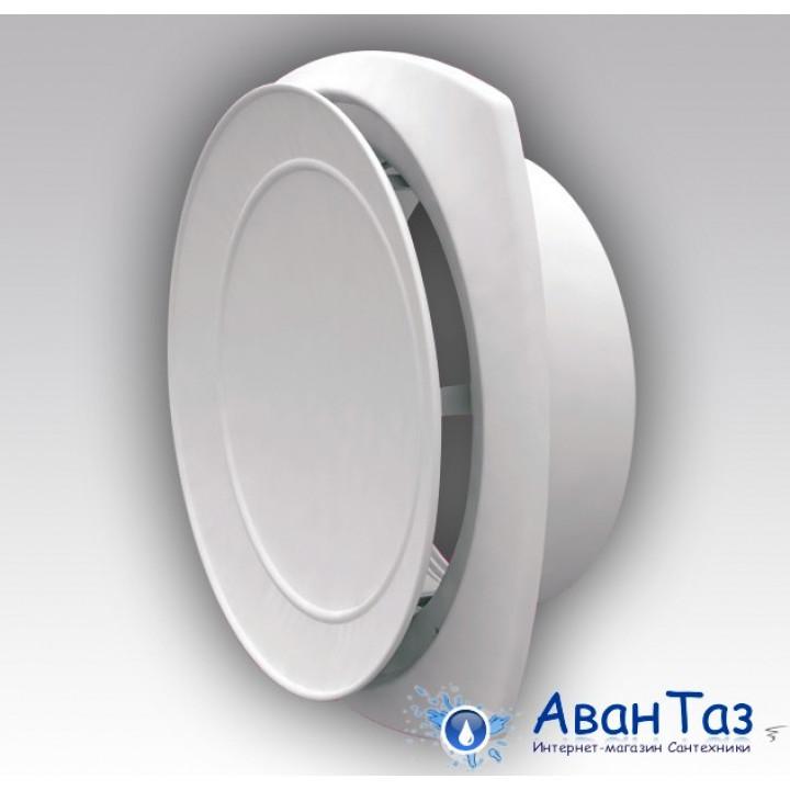 16АПП Анемостат приточный регулируемый с фланцем АБС D160
