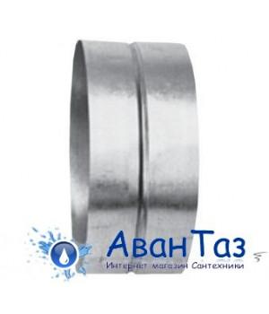Вентиляция круглый нипель ВКН 125/70/0.5