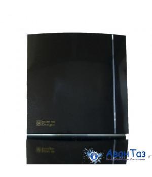 (Soler & Palau) Вентилятор накладной SILENT-100 CZ BLACK DESIGN-4C