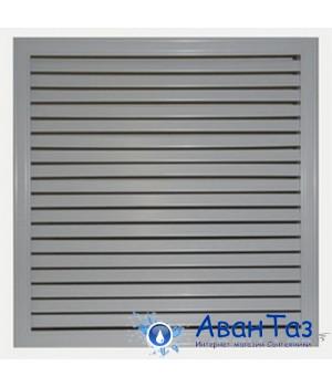 Решетка радиаторная 60*60 серый