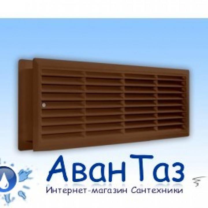 Решетка дверная ДП4513 коричневая
