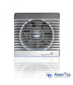 (Soler & Palau) Вентилятор накладной Decor 100C Silver