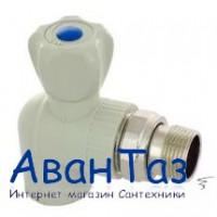 "Кран шаровой д/радиаторов угловой TR-TB 20х1/2"" серый(10/60)"
