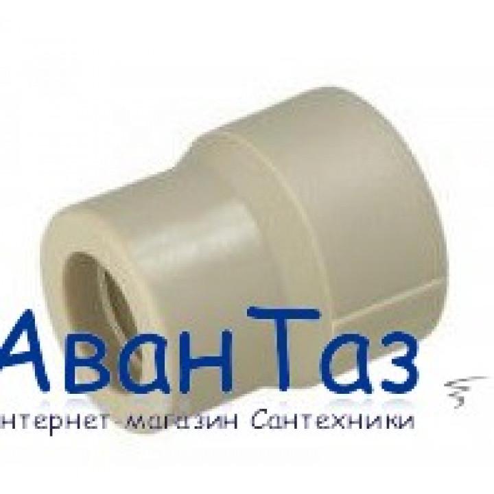 Муфта переходная 25вн/20нар ТВ серый