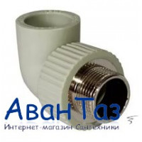 Уголок комбинированный нар.рез. 25*1/2 Damento серый